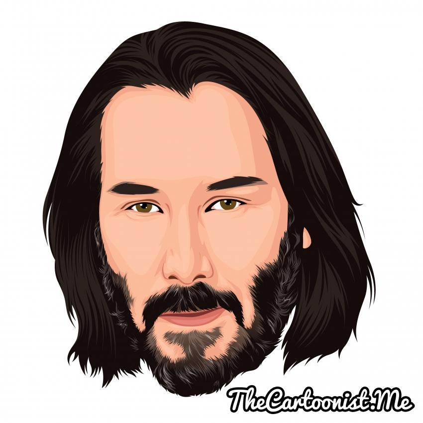 Keanu Reeves par TheCartoonist